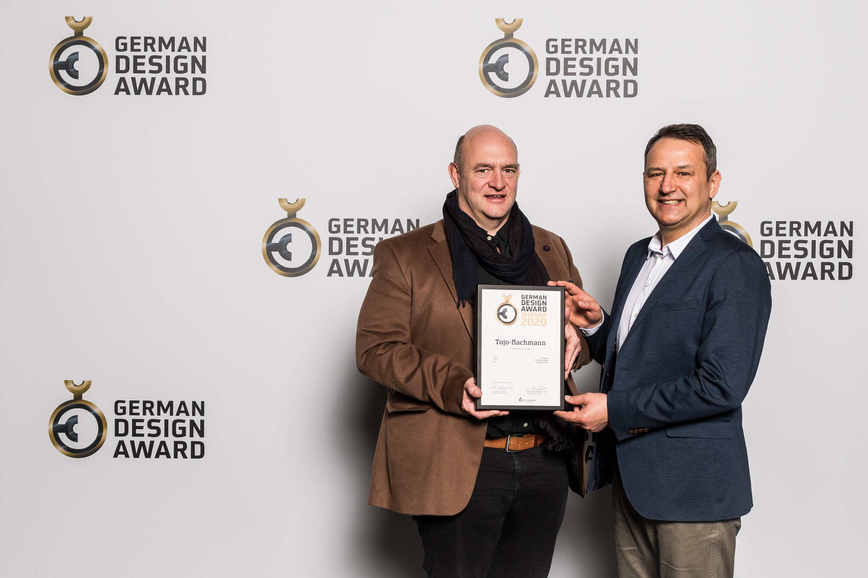 Preisverleihung German Design Award 2020 - Tojo-flachmann