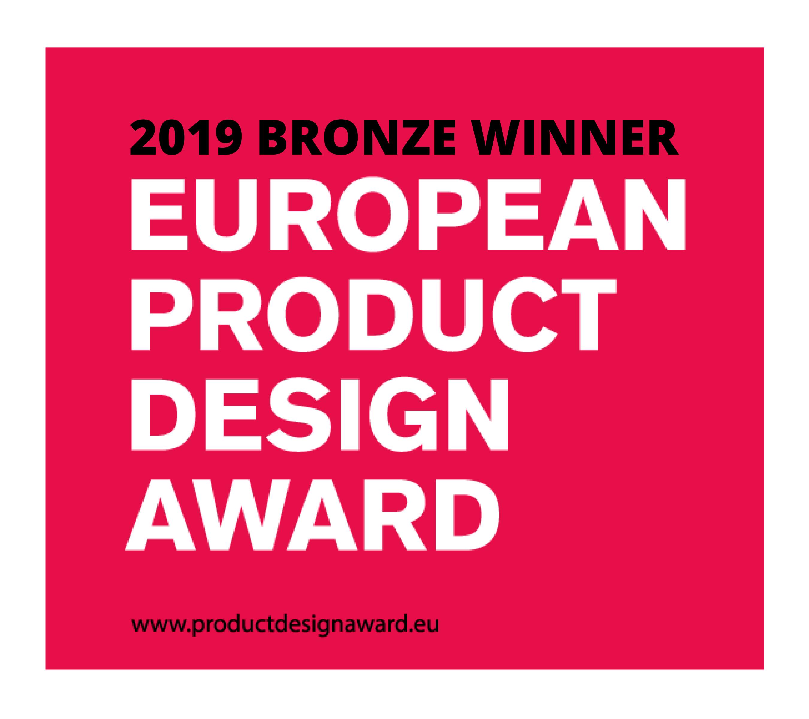 Tojo-mehrfach gewinnt Bronze beim European Product Design Award 2019