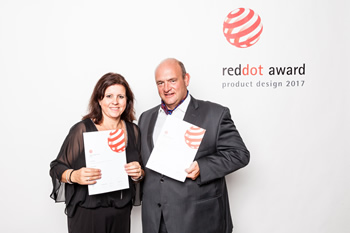 Reddot Award and German Brand Award Winner