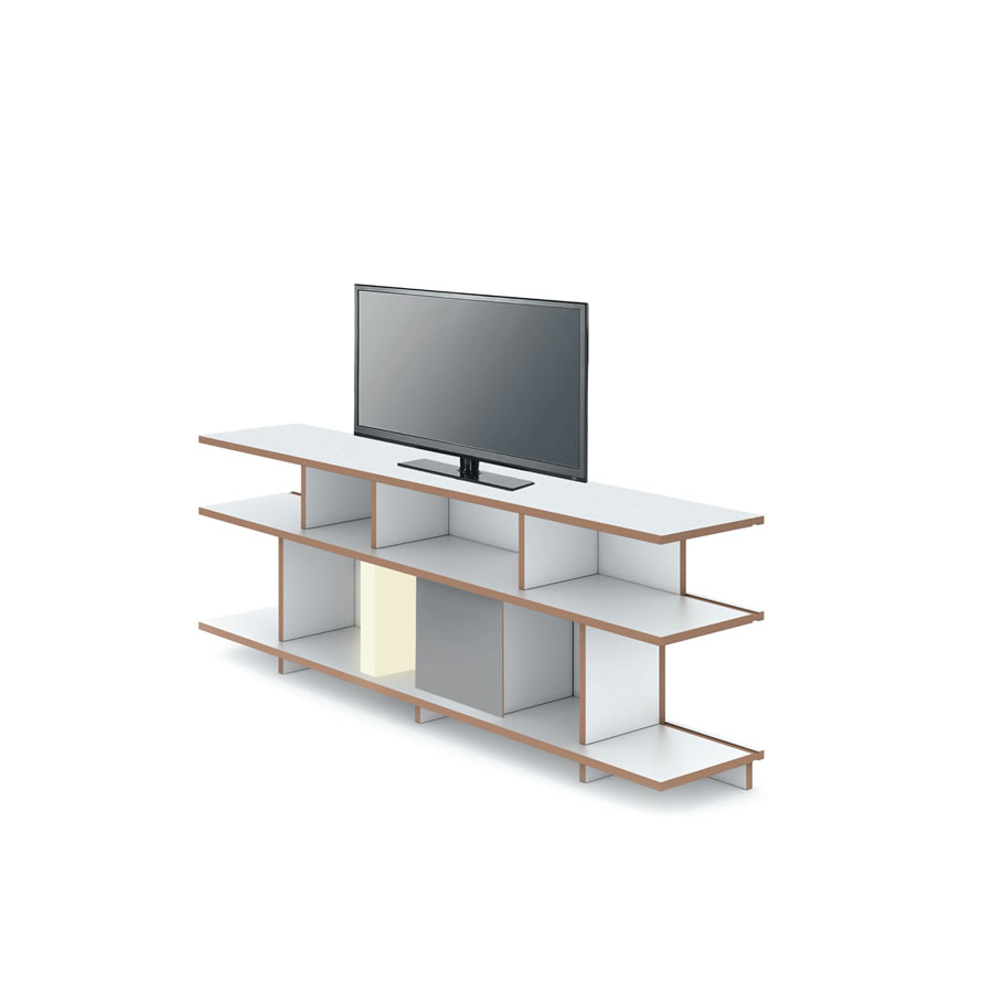 tv rack mit rollen koolcase pro12u 19 zoll rack. Black Bedroom Furniture Sets. Home Design Ideas